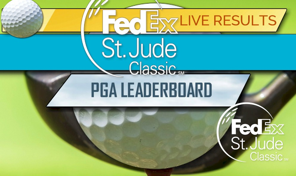 Fedex St Jude Classic Leaderboard 2018 Pga Leaderboard Update