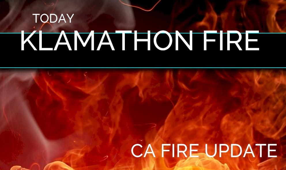 Klamathon Fire Map 2018 California Fire Map Update Hornbrook