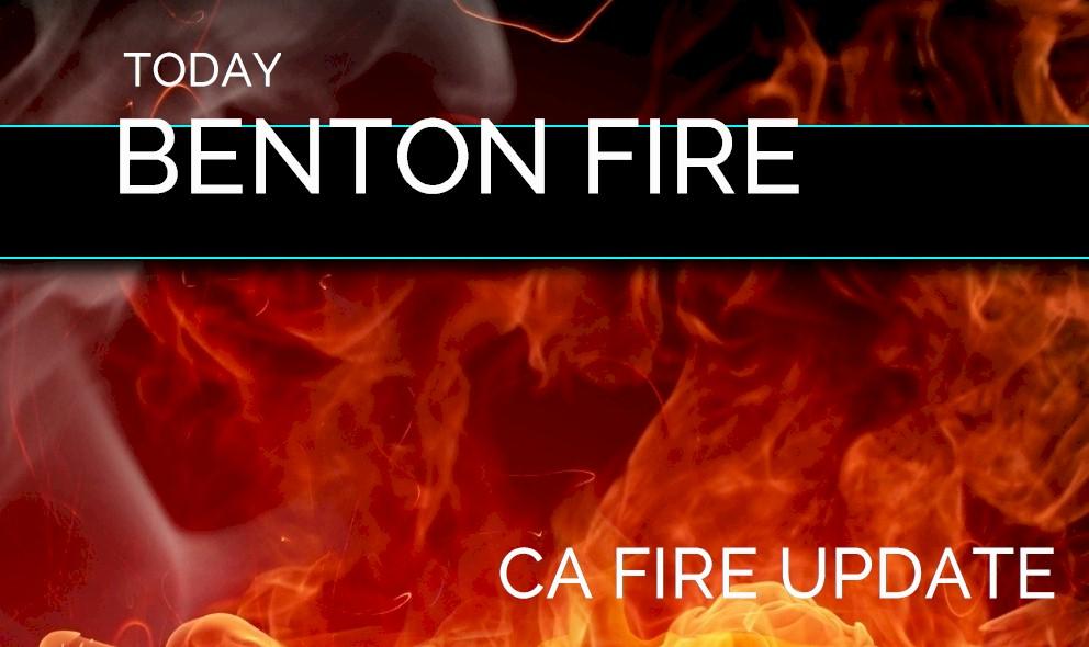 Benton Fire Map 2018: Anza Fire, Riverside Today