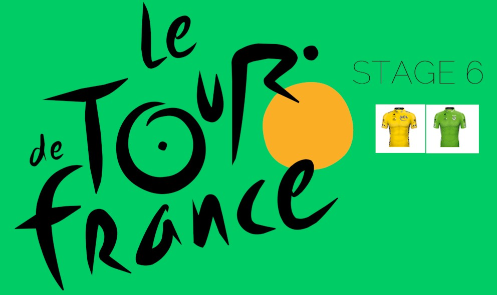 Tour De France Standings 2018 Stage 6 Results General Classification