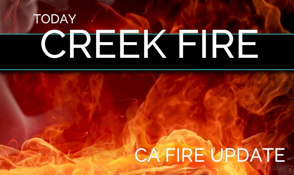 Lake Isabella Fire Map.Creek Fire Map Lake Isabella Fire Tonight Grows