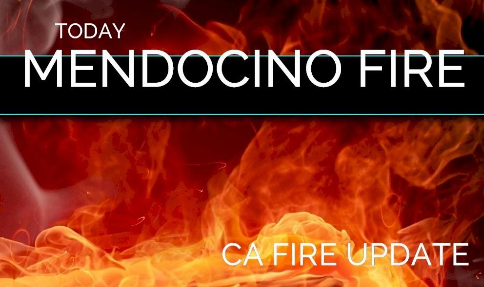Mendocino Complex Fire Evacuates Long Valley High Valley Spring Valley
