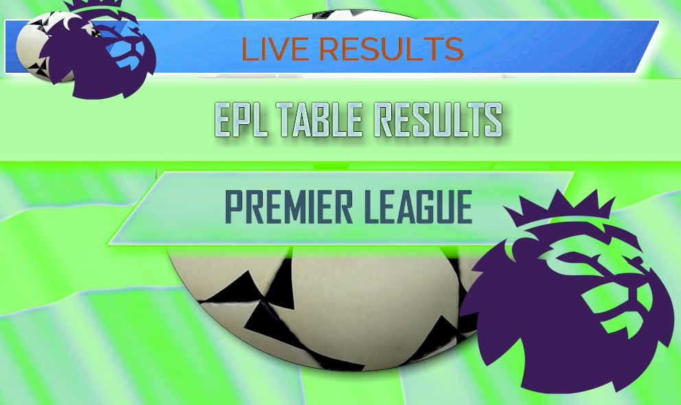 Epl table results 2018 english premier league results today - Today premier league results and tables ...