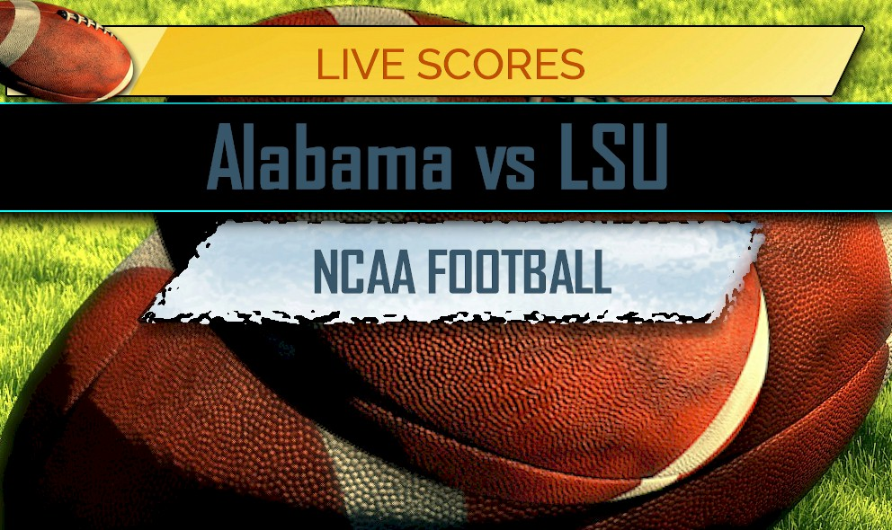 Alabama Vs Lsu Score Ap Top 25 College Football Rankings