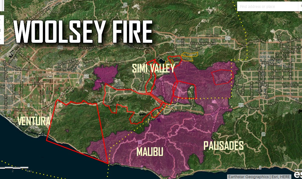 Hills Fire Map.West Hills Fire Map Update Lake Sherwood Ventura Fire