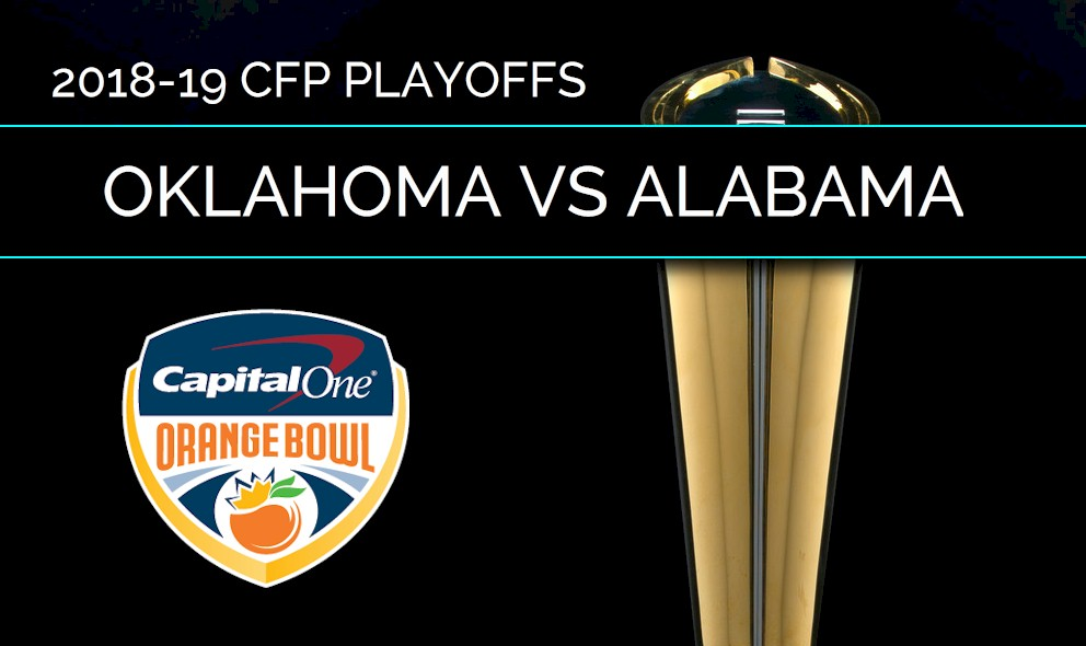 Oklahoma Vs Alabama Score Orange Bowl College Football Playoff