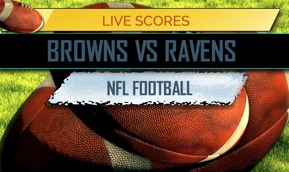 Browns Vs Ravens Score Nfl Football Results