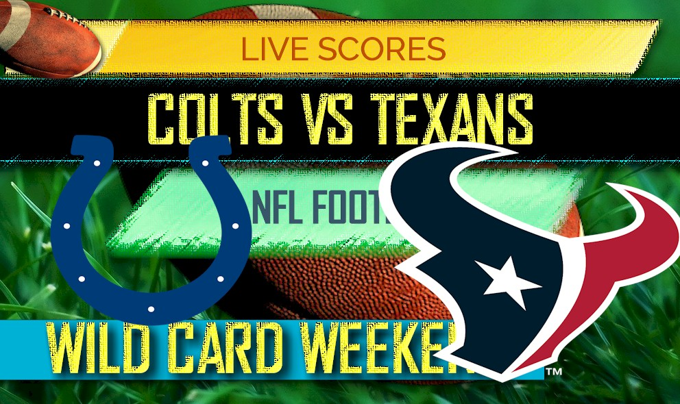 picture relating to Colts Schedule Printable titled Colts vs Texans Ranking: AFC Wild Card Playoff Success