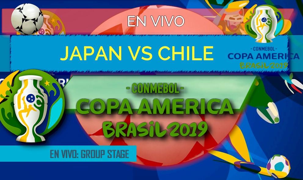 Japan vs Chile En Vivo Score: Copa America Resultados 2019