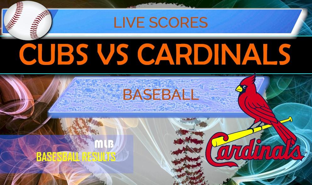 cubs score cardinals mlb playoff