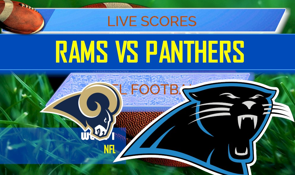 Rams Vs Panthers Score Nfl Football Results