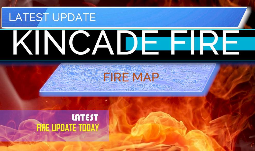 Fire Kincade Update: Geyserville 128 Highway Fire Jumps Map