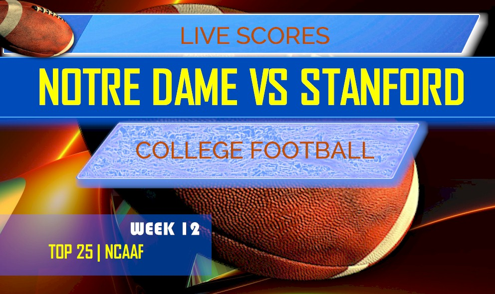 Notre Dame Vs Stanford Score Ap Top 25 College Football Results