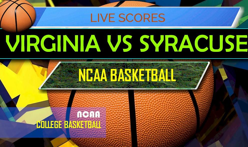Virginia Vs Syracuse Score Ap Top 25 College Basketball