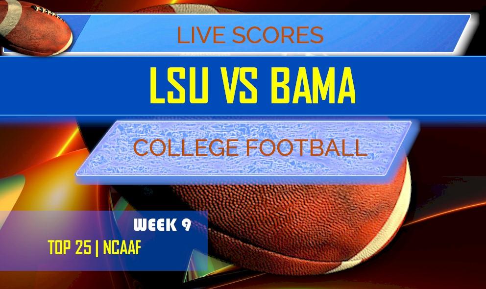 LSU vs Alabama Score: AP Top 25 College Football Rankings