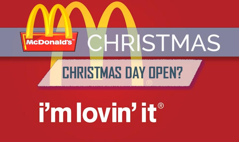 McDonalds Open on Christmas Day: iHop