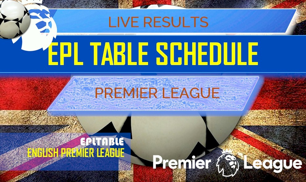 Epl Table Results English Premier League Results Today 2020