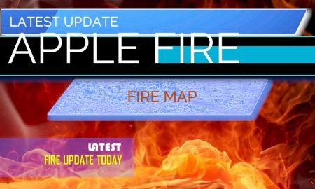 Apple Fire Map: Apple Fire Map Evacuation Orders Tonight Riverside