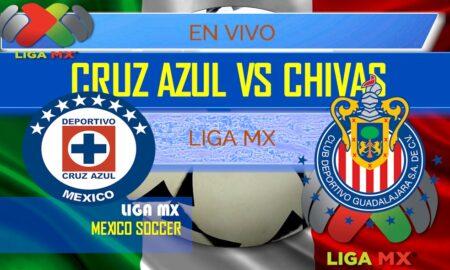 Cruz Azul vs Chivas Guadalajara En Vivo Score: Liga MX Table